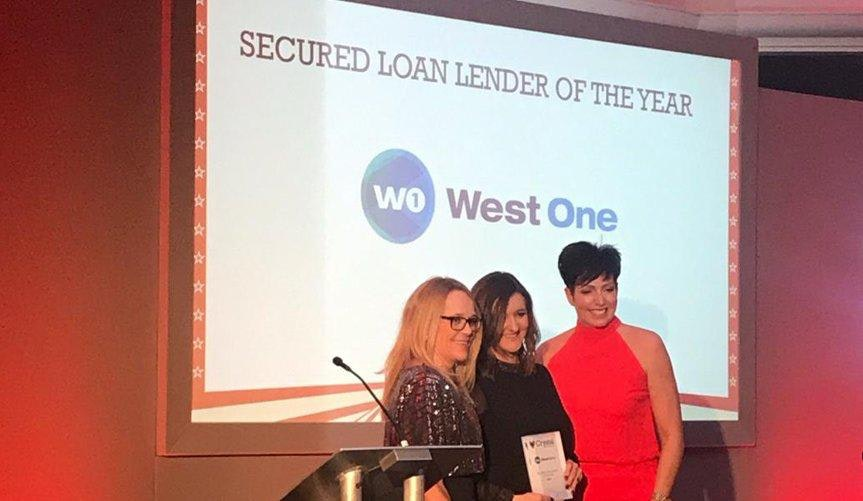 West One win Secured Loan Lender of the Year at Crystal Ball 2020