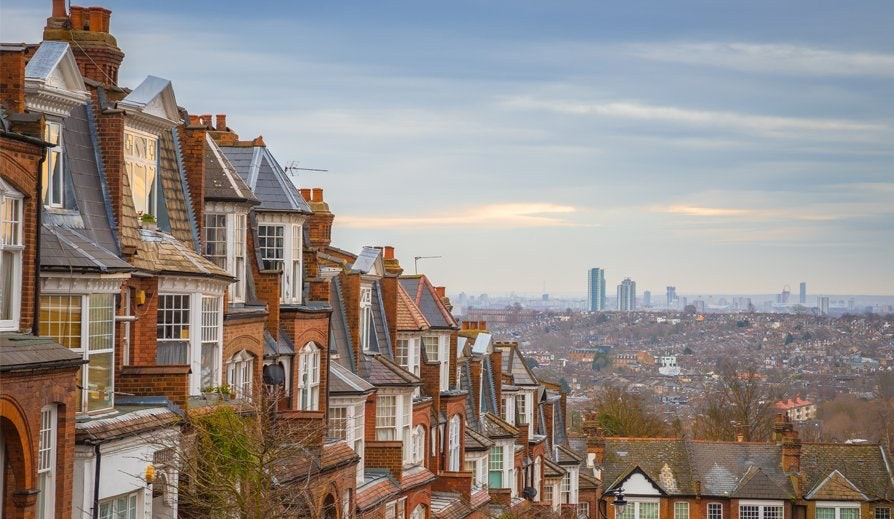 Muswell hill skyline