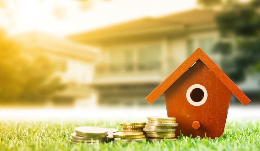 Second charge mortgage funds next to property